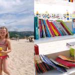 Βιβλιοθήκη σε παραλία της Βουλγαρίας!