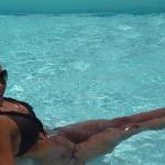 Γυμναστική στο νερό! Η Χριστίνα Πάζιου μας δείχνει τον τρόπο να χάσουμε 5 κιλά σε 2 εβδομάδες