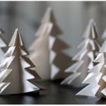 Do It Yourself: Φτιάχνουμε όμορφα μικρά χάρτινα δεντράκια