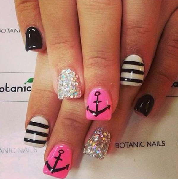 Best Nail Designs Pictures 2016 2017 For Girls: 15 υπέροχα καλοκαιρινά μανικιούρ για να πάρετε ιδέες