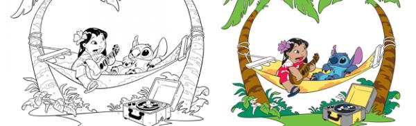 Μαθαίνουμε Μαθηματικά ζωγραφίζοντας Lilo και Stitch (Λίλο & Στιτς)