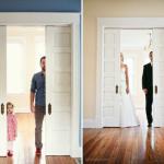 Συγκλονιστική φωτογράφιση πατέρα και κόρης στη μνήμη της γυναίκας του που έφυγε νωρίς…