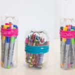Do It Yourself: φτιάχνουμε κασετίνα ή πρωτότυπο νεσεσέρ από πλαστικό μπουκάλι!