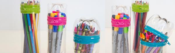Do It Yourself: φτιάχνουμε κασετίνα από πλαστικό μπουκάλι!