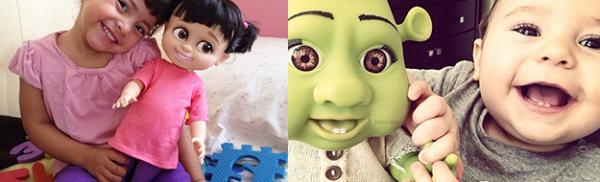 20 μωρά που μοιάζουν πολύ με τις κούκλες τους!