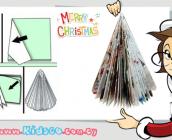 make-a-recycled-magazine-tree-ftiachnoyme-christoygenniatiko-dentro-apo-periodiko-icon0