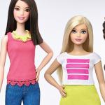 Η Barbie άλλαξε σώμα για πρώτη φορά: δείτε τις νέες κούκλες